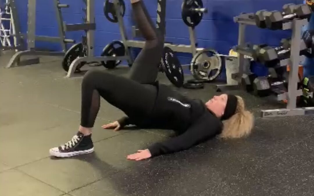 Weekly Video – Home Workout – Bum Burner!