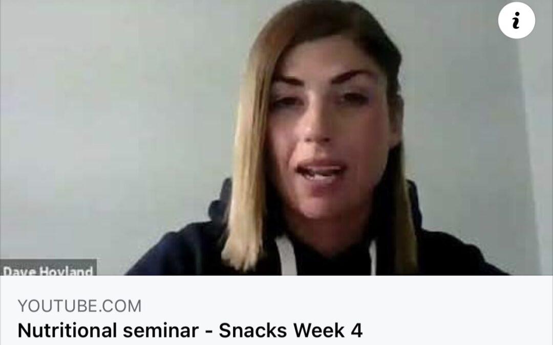 Nutrition Seminar – Snacks