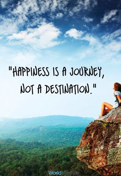 Embrace the journey, not just the destination!